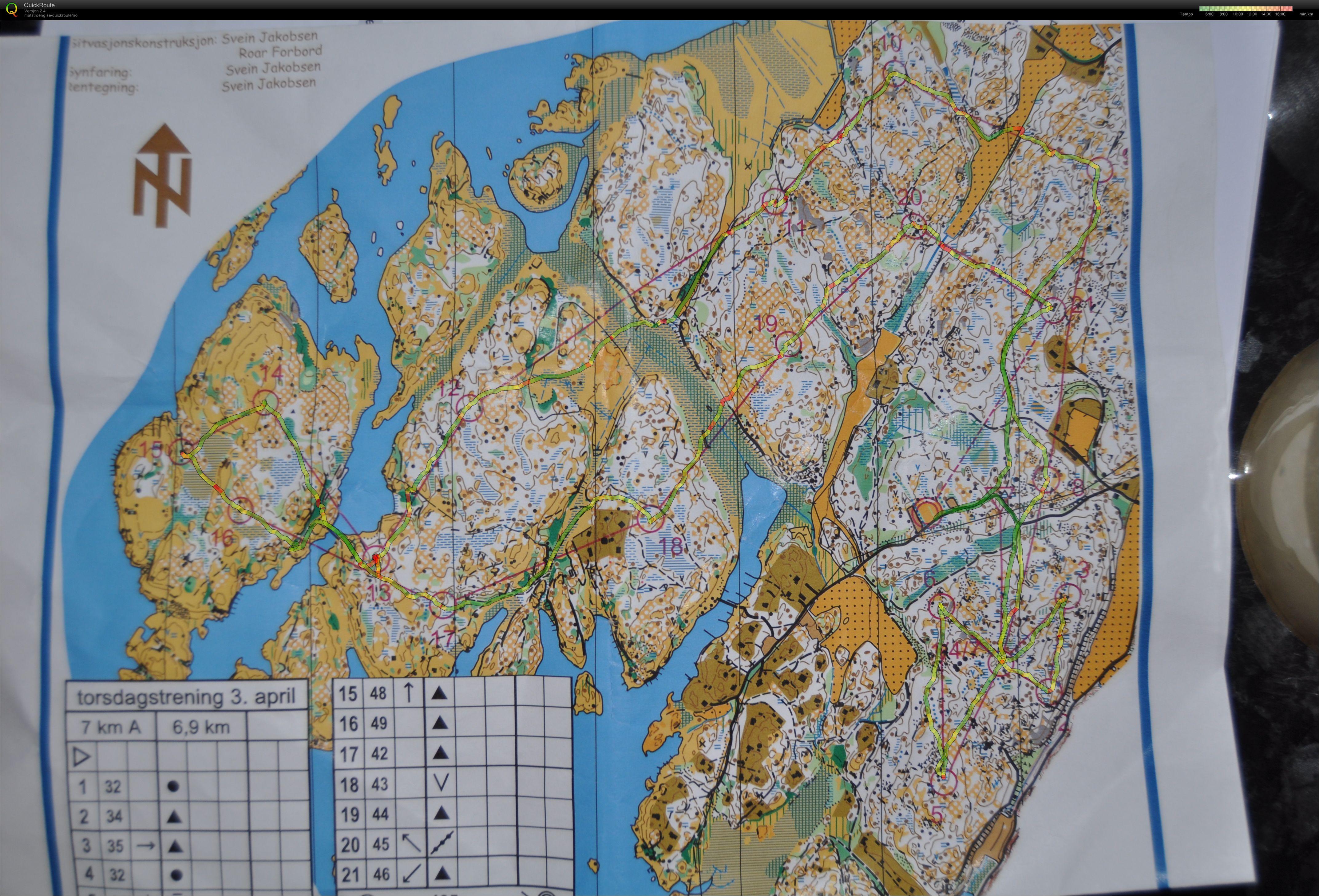 kråkerøy kart Mitt digitale veivalgsarkiv :: Torsdagstrening o teknikk (2014 04 03) kråkerøy kart