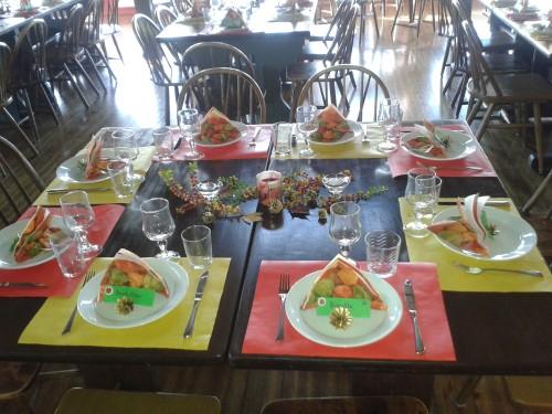 skihytta bord